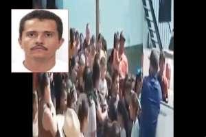 VIDEO: El Mencho dio regalos comida a niños; Payasito les leyó mensaje del líder del CJNG