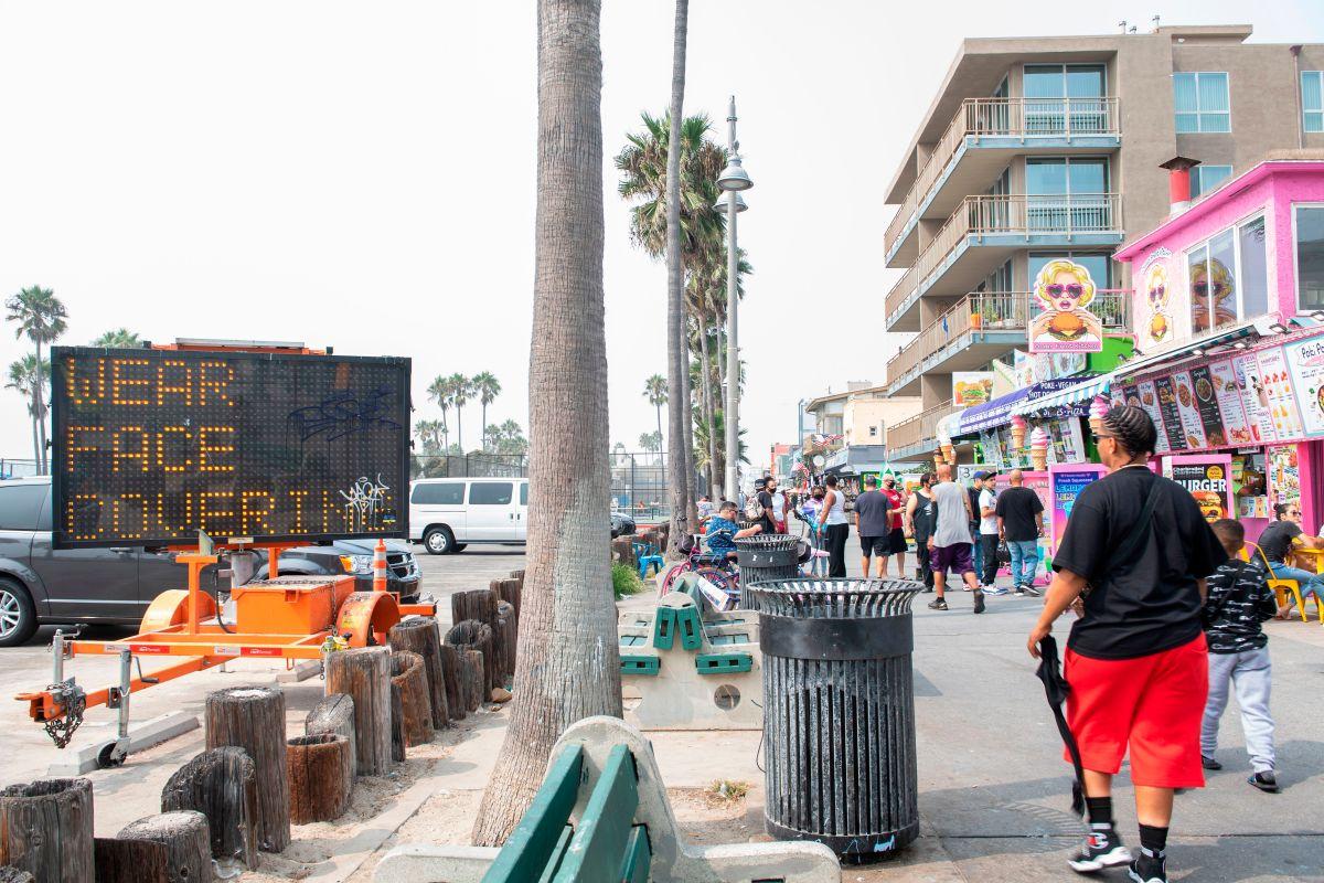 Los acontecimientos ocurrieron en el paseo marítimo de Venice Beach. (Archivo)