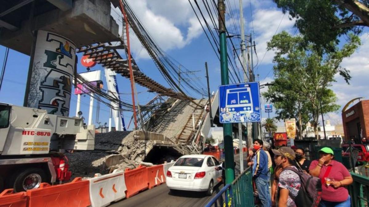 """Los barrios periféricos de Ciudad de México que quedaron """"marginados"""" tras la tragedia del metro"""