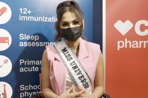 Andrea Meza, la Miss Universo, se vacuna contra el COVID-19: 'Era lo más importante para mi'