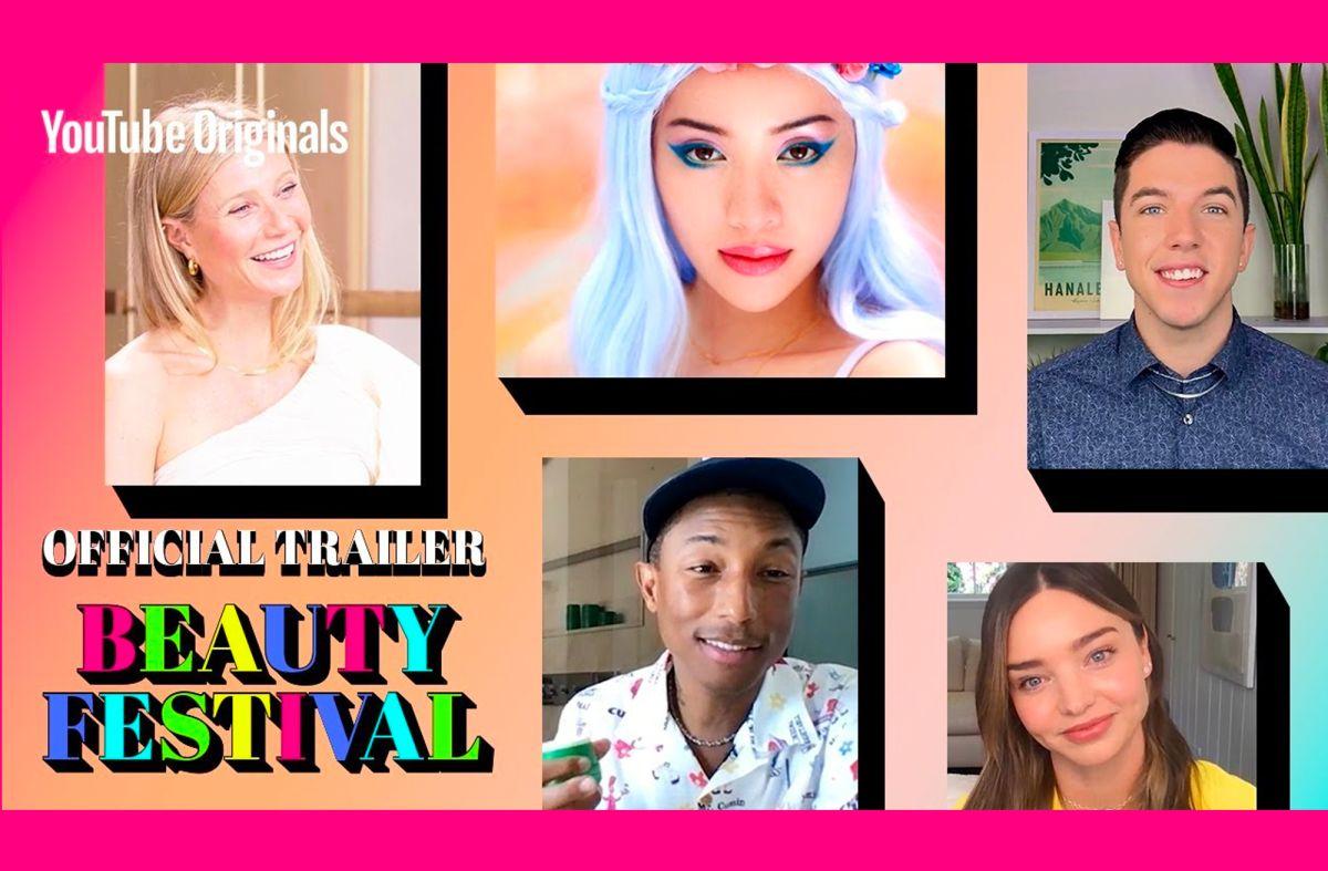 Selena Gomez, Rosy McMichael y Addison Rae participan en el primer Festival de Belleza de YouTube