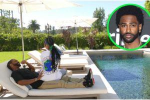 Big Sean, exprometido de Naya Rivera, presume en tour su enorme mansión de Malibú