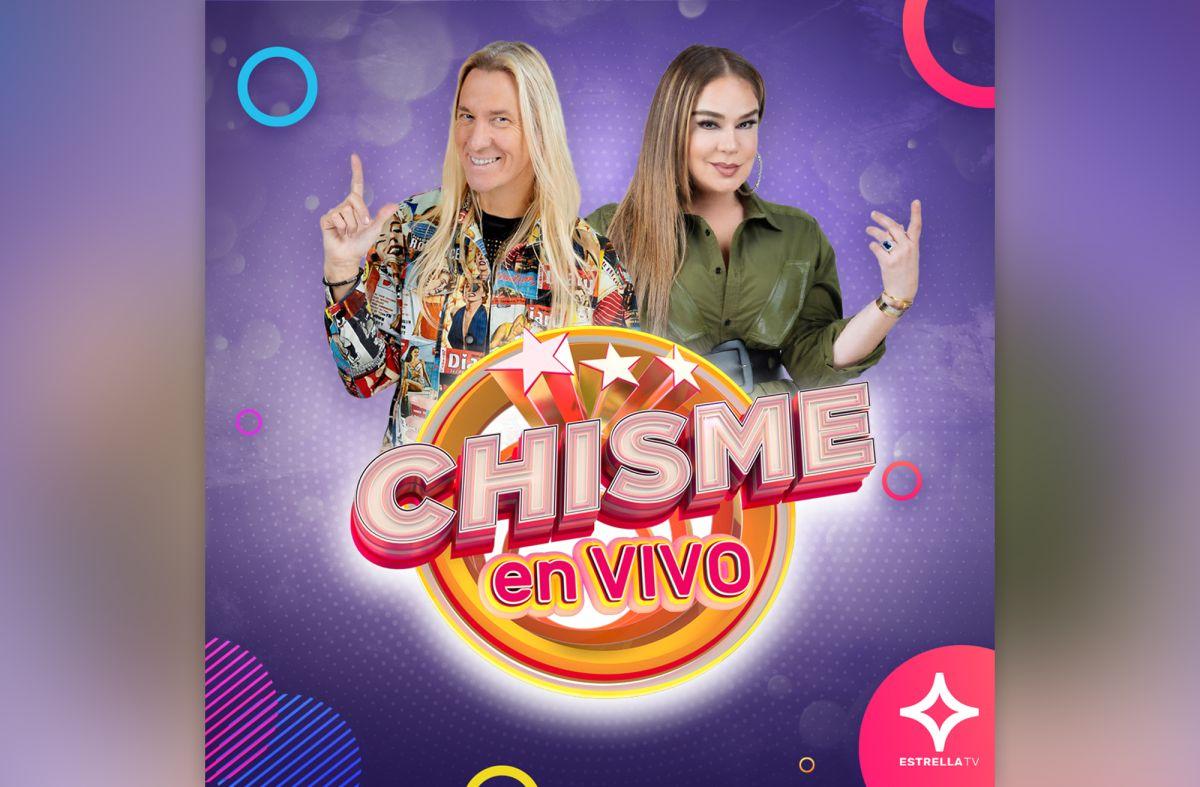 Elisa Beristain y Javier Ceriani llevan su 'Chisme En Vivo' a un nuevo horario en Estrella TV