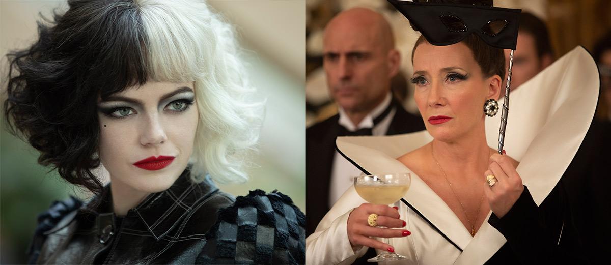 """""""Cruella"""": Emma Stone y Emma Thompson son dos villanas muy diferentes en el film sobre el origen de Cruella de Vil"""