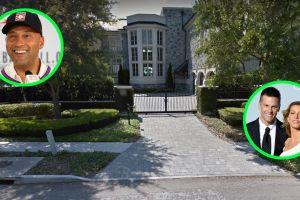 Derek Jeter malvendió la mansión más cara de Tampa y que por un tiempo fue hogar de Tom Brady
