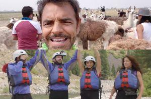 Video tráiler del show 'De Viaje Con Los Derbez 2' de Pantaya los deja ver 'al natural'