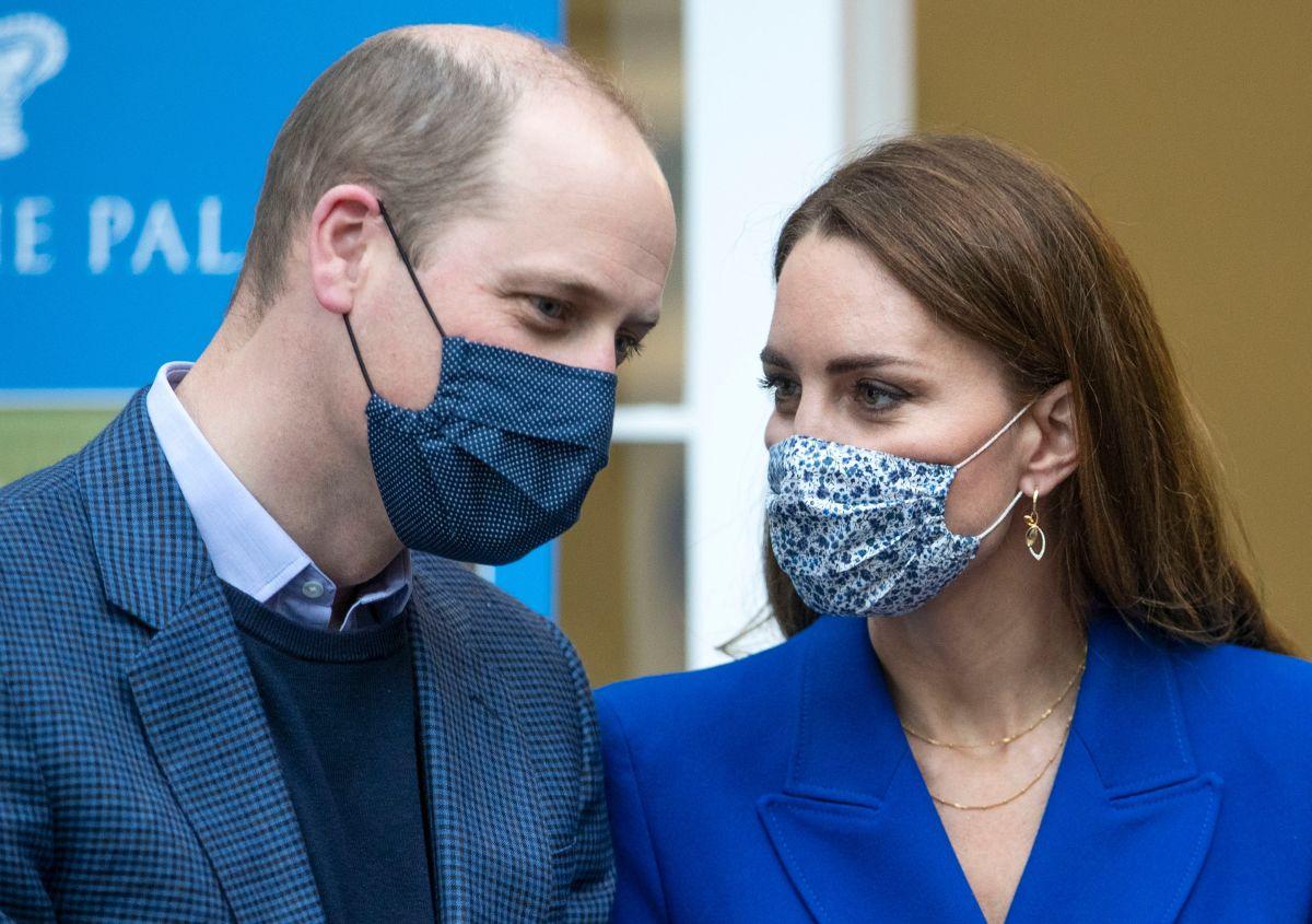 El príncipe William y su esposa Kate Middleton.