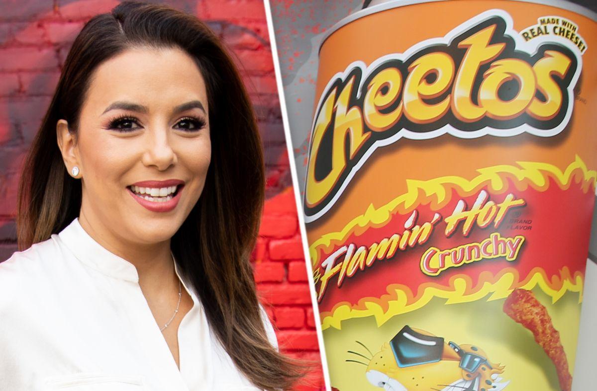 Eva Longoria prepara película sobre los Cheetos y ya tiene a sus protagonistas