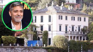 George Clooney invita a sus fans a almorzar con él en su imponente mansión de Italia