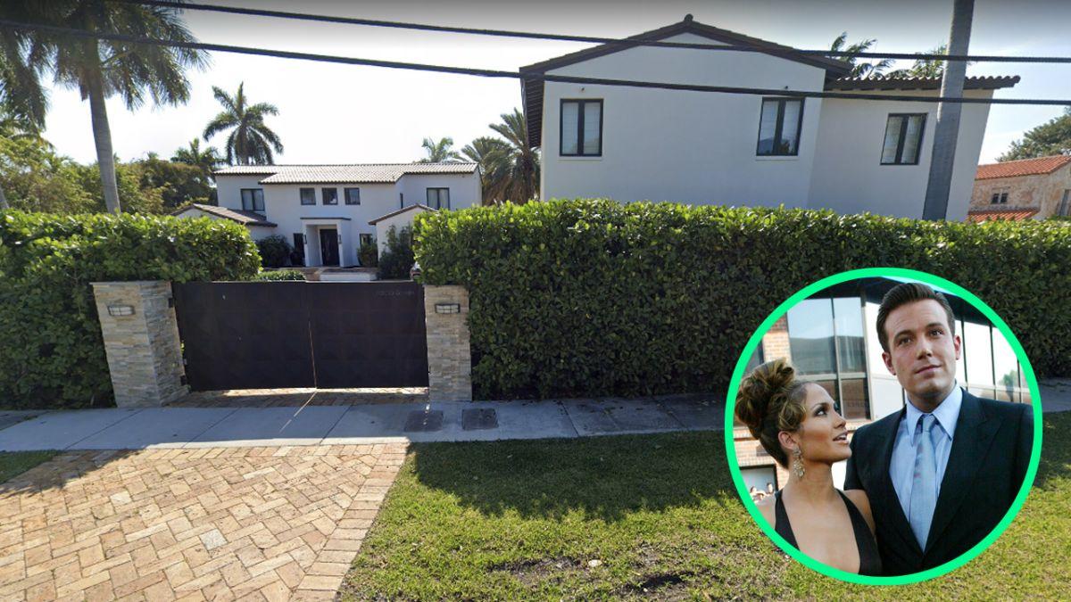 Jennifer Lopez y Ben Affleck disfrutan todos los lujos de esta mansión en Miami Beach.