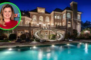 Conoce la mansión que Kelly Clarkson finalmente vendió tras cuatro años en el mercado