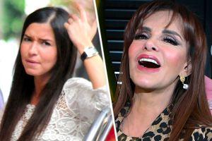 Video: Lucía Méndez le hace el feo a Laura G en 'Venga La Alegría' y la ignora completamente