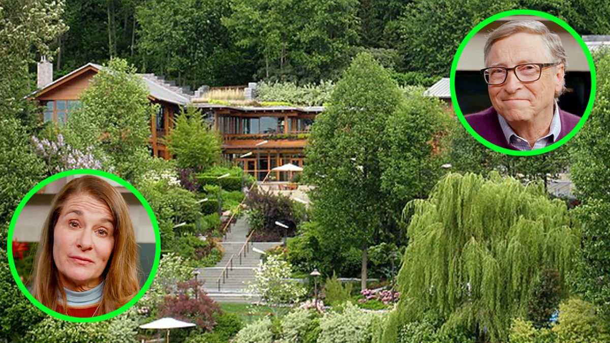 ¿Quién se la quedará tras su divorcio? Así es la mansión de $147 millones de Bill y Melinda Gates