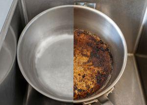 ¿Cómo quitar el cochambre de los sartenes? 3 productos que eliminan la grasa, suciedad y lo quemado