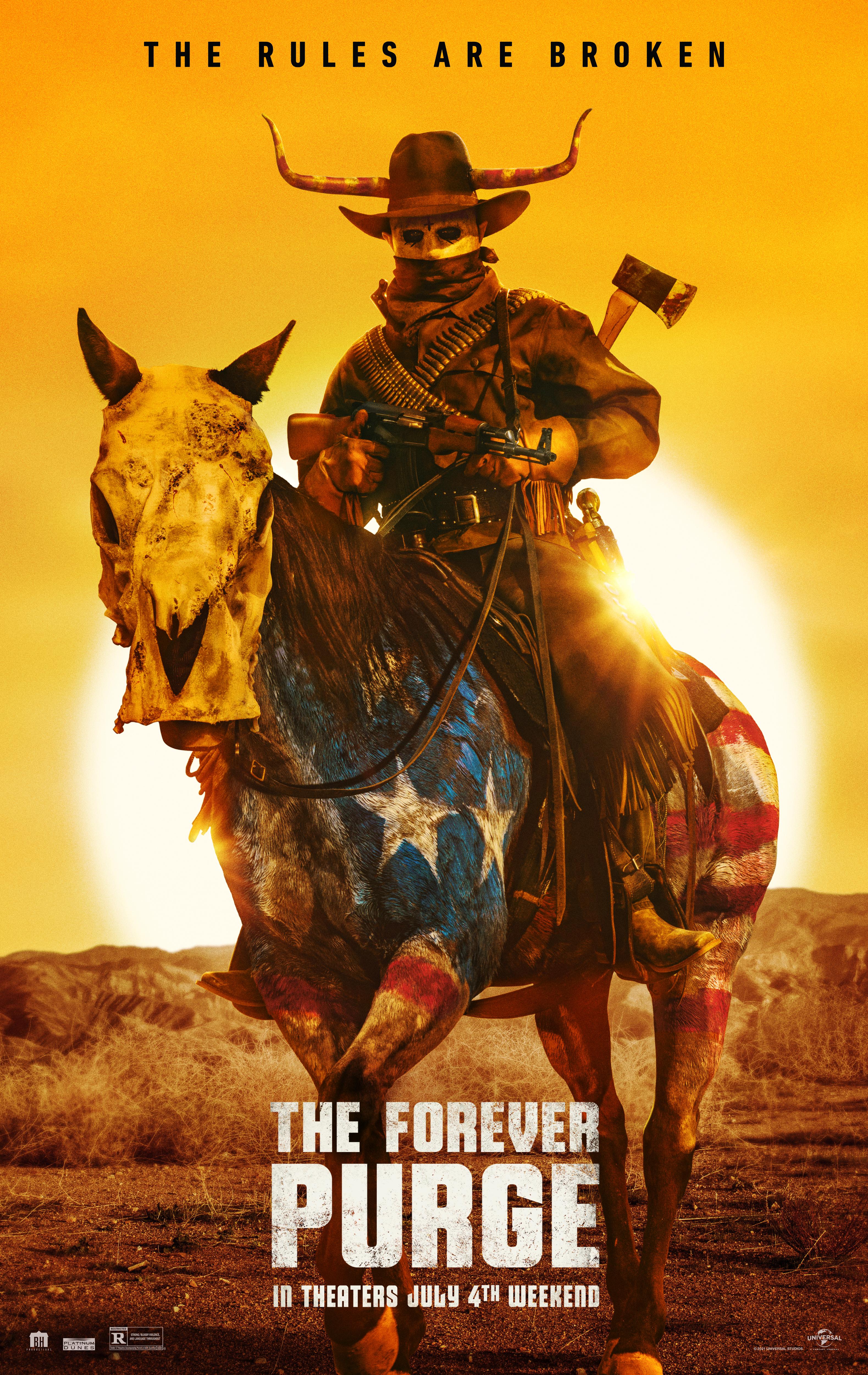 Póster de la película 'The Forever Purge'