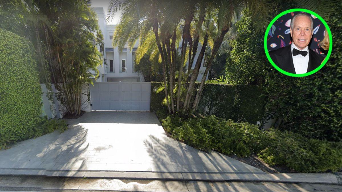 Así es por dentro la pintoresca mansión temática de Tommy Hilfiger en Golden Beach, Florida