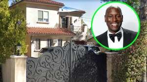 Tyrese vende su mansión en Woodland Hills con todo... ¡y un Transformer de tamaño real!