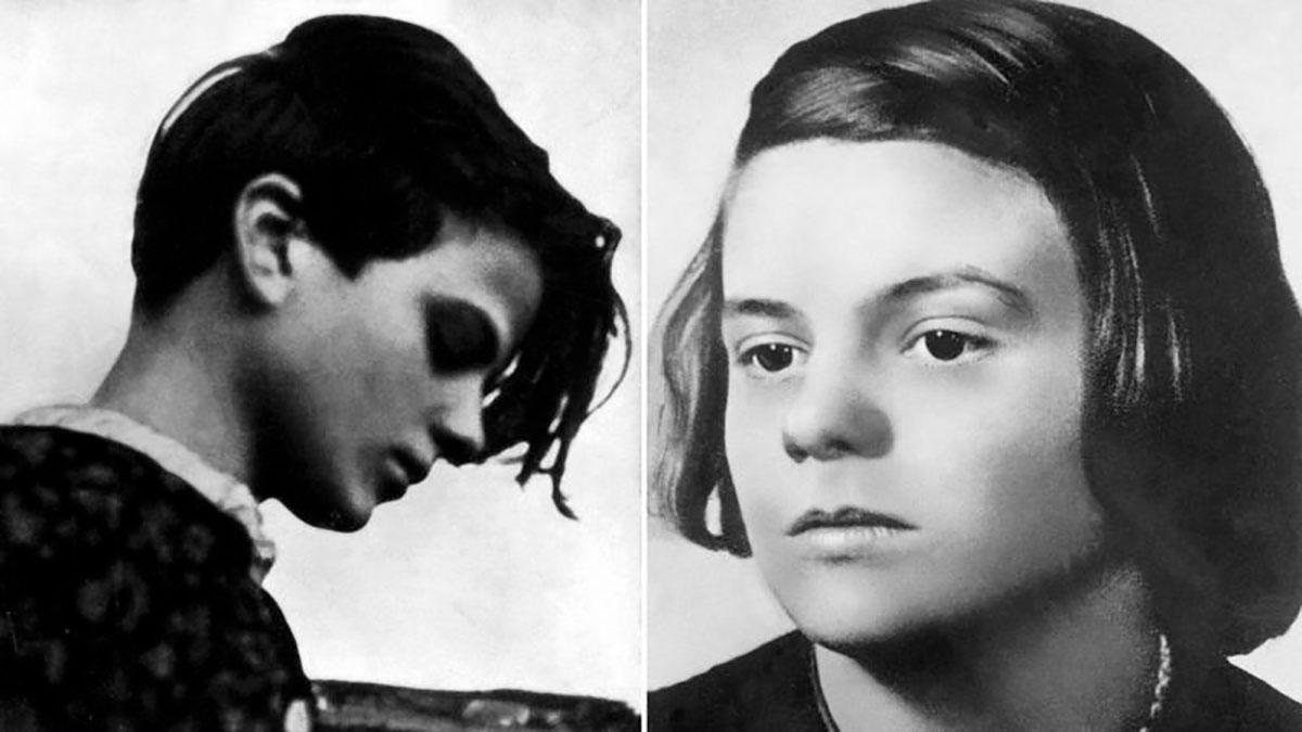 Al principio, de adolescente, Sophie Scholl apoyó a Hitler, pero sus opiniones respecto a él cambiaron.
