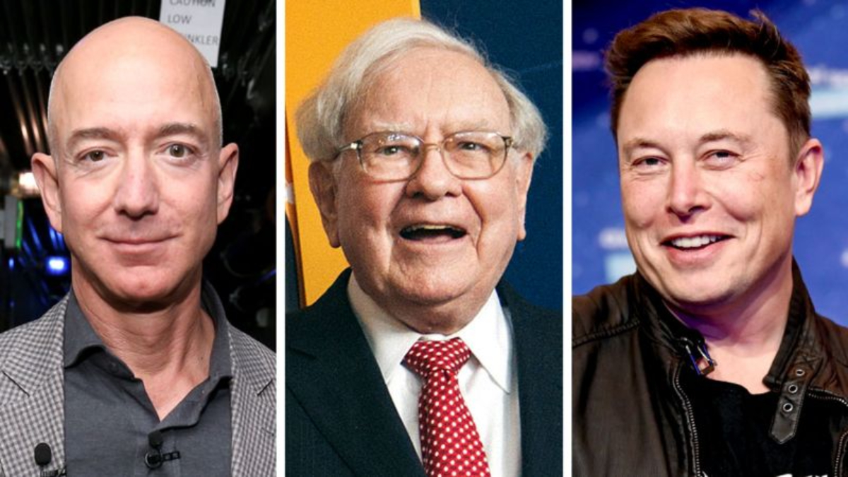 The website says it has seen the tax returns of Jeff Bezos, Warren Buffet and Elon Musk.