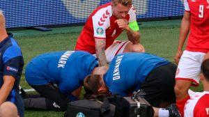 Los héroes que salvaron al jugador danés Christian Eriksen que se desplomó en la cancha en la Eurocopa