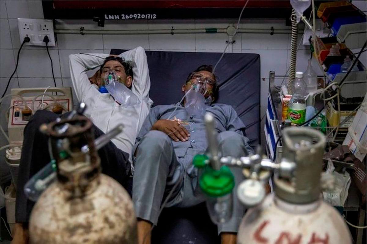 La variante Delta es la causante de las hospitalizaciones recientes. (Reuters)