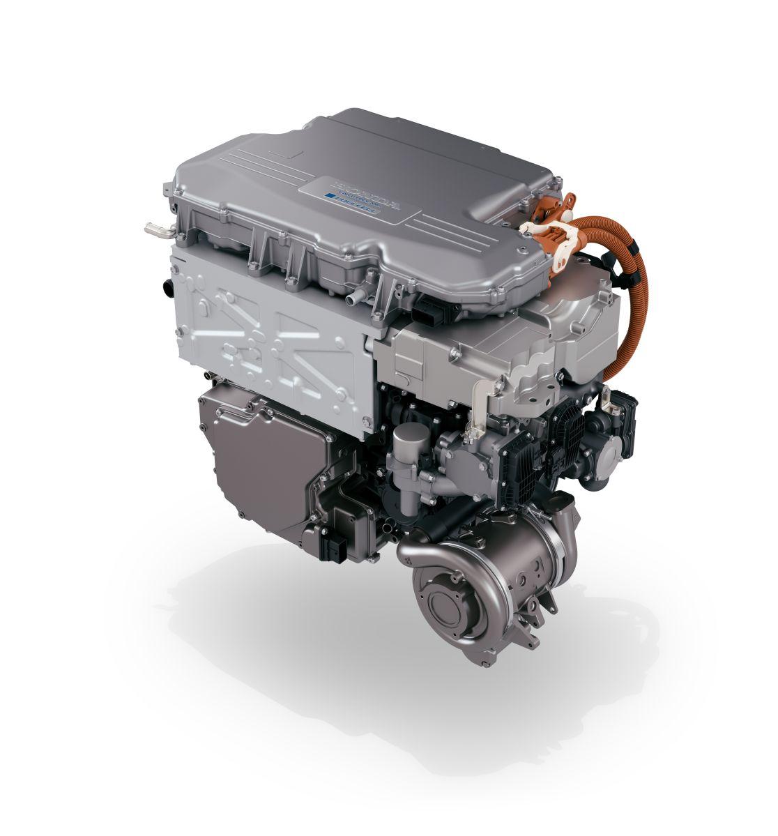 Foto del motor del Honda Clarity 2021