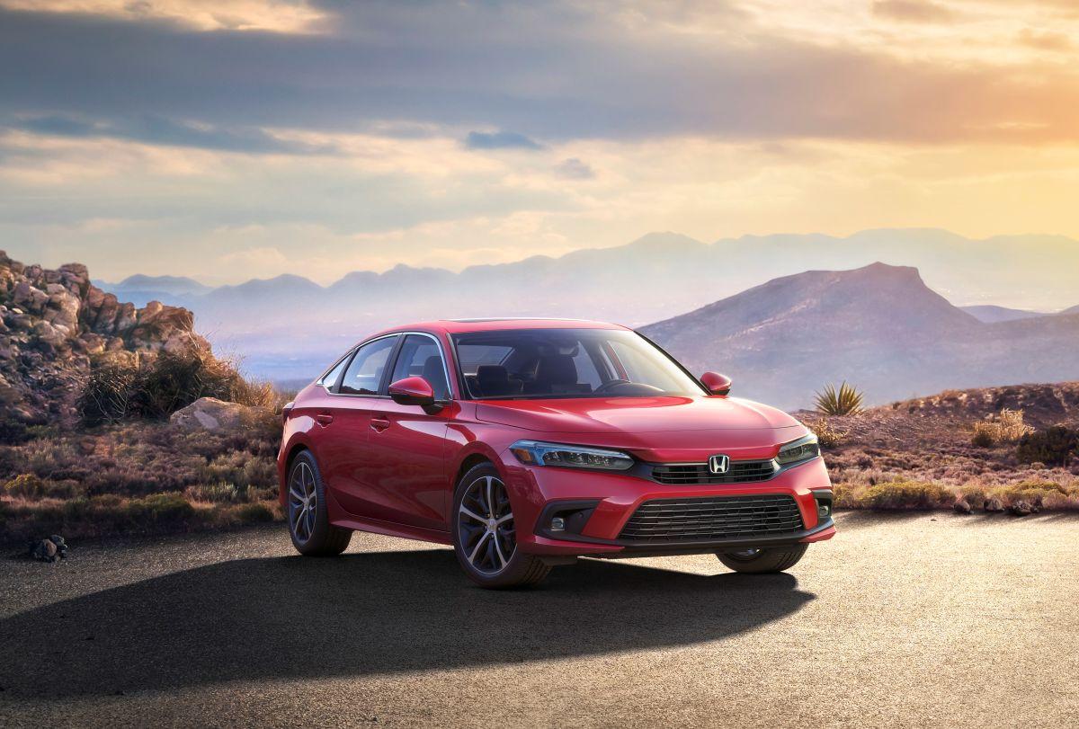 Foto del nuevo Honda Civic Sedán de 11° generación