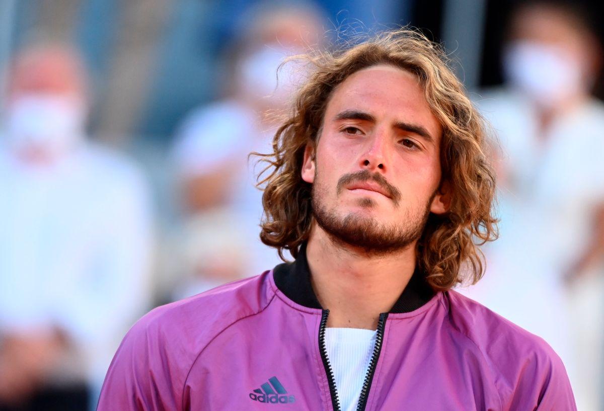 Stefanos Tsitsipas se enteró que su abuela falleció 5 minutos antes de la final de Roland Garros