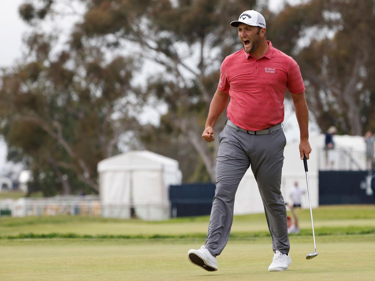 Gran triunfo del español Jon Rahm en el US Open de golf