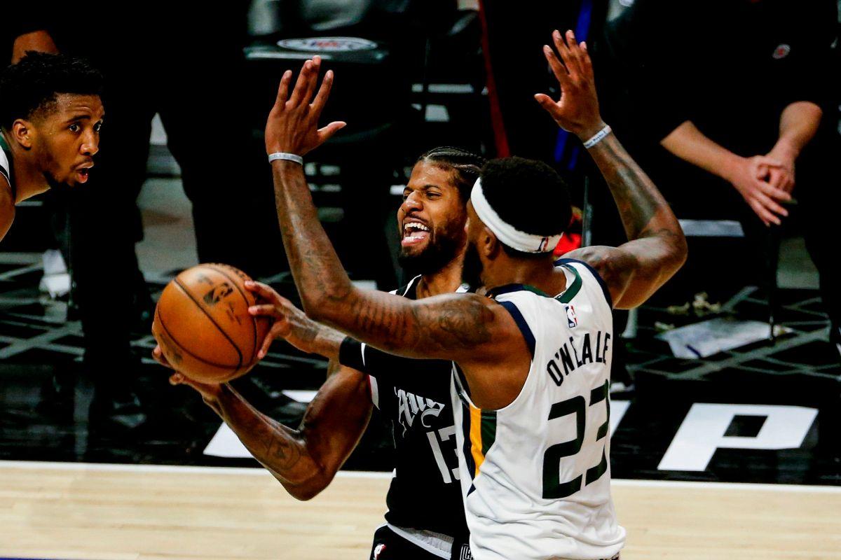 """La noche más feliz de los Clippers: el """"otro"""" equipo de L.A. hace historia tras remontar 25 puntos contra Utah"""