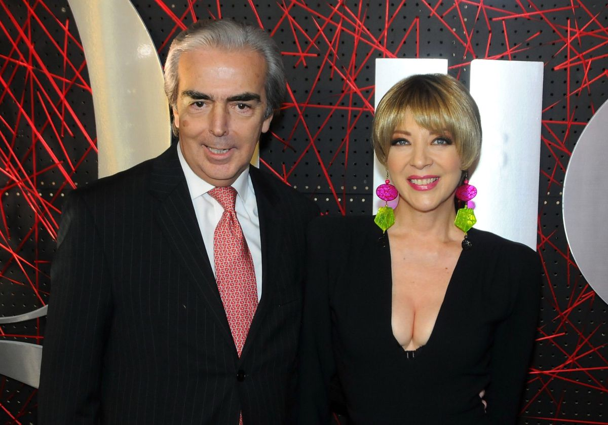 Edith González y Lorenzo Lazo.