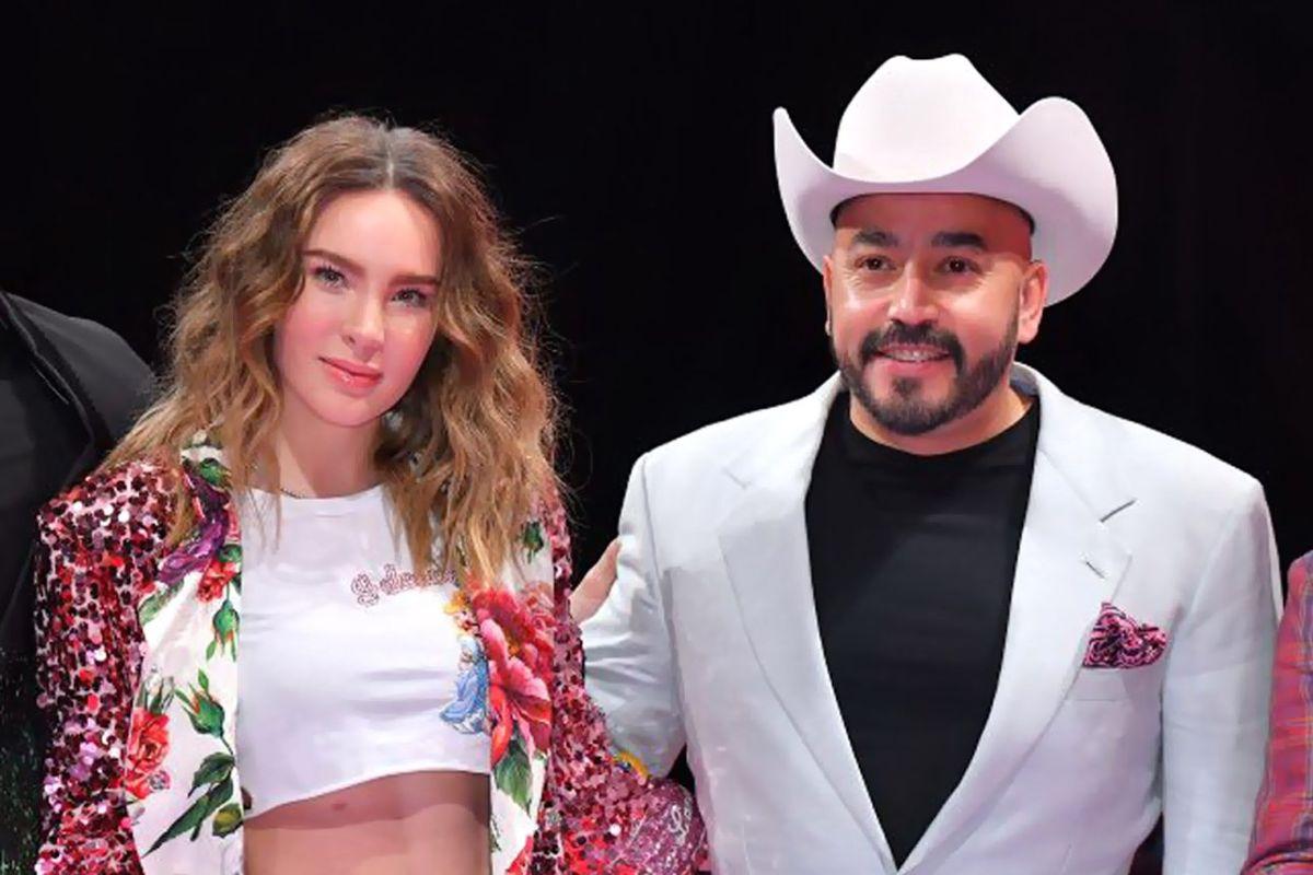 Belinda y Lupillo Rivera.