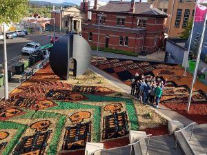 Exposición de alfombristas mexicanos en Australia