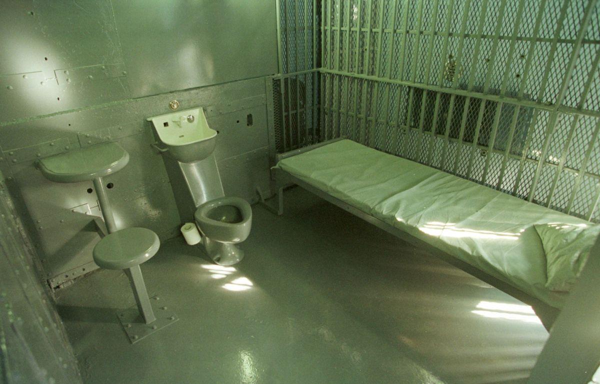 """La celda de detención dentro de la """"Casa de la Muerte"""" ubicada en el complejo carcelario principal de Florencia."""