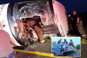 Cártel del Golfo detrás del accidente que dejó 12 muertos y 17 heridos en carretera fronteriza