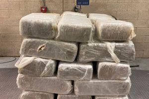 Cae camión con más de media tonelada de droga con valor de $262,500 dólares en Puente Internacional de Pharr