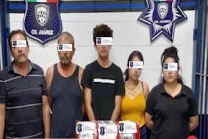 Caen 14 del Cártel de los Mexicles, entre ellos 4 mujeres acusados de matar a 2 policías y herir a otra