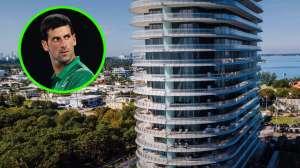 De gran slam, así es el lujoso apartamento que Novak Djokovic vendió en Miami por $6 millones