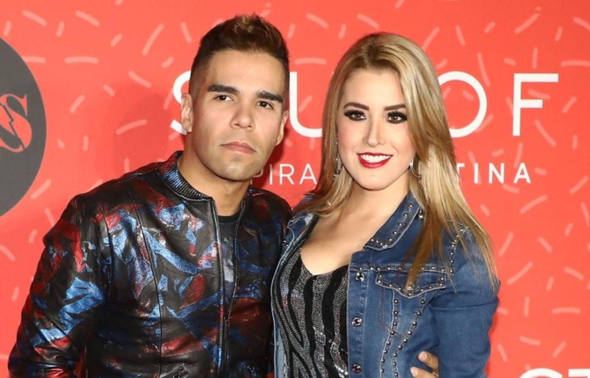 Emir Pabón y su esposa, Stefanía de Aranda.