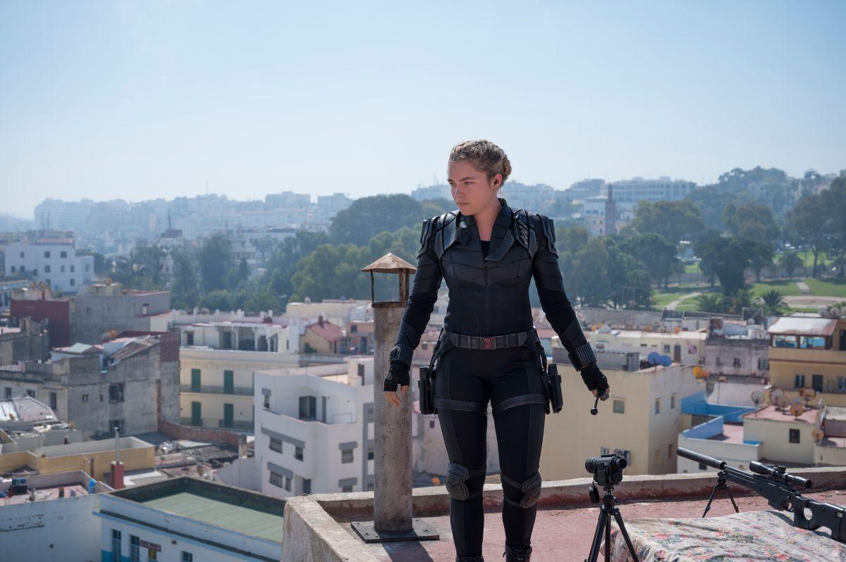 Florence Pugh se estrena en el Universo Cinemático de Marvel con Yelena.