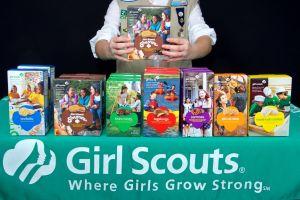 Las Girl Scouts en Estados Unidos tienen 15 millones de cajas de galletas sin vender