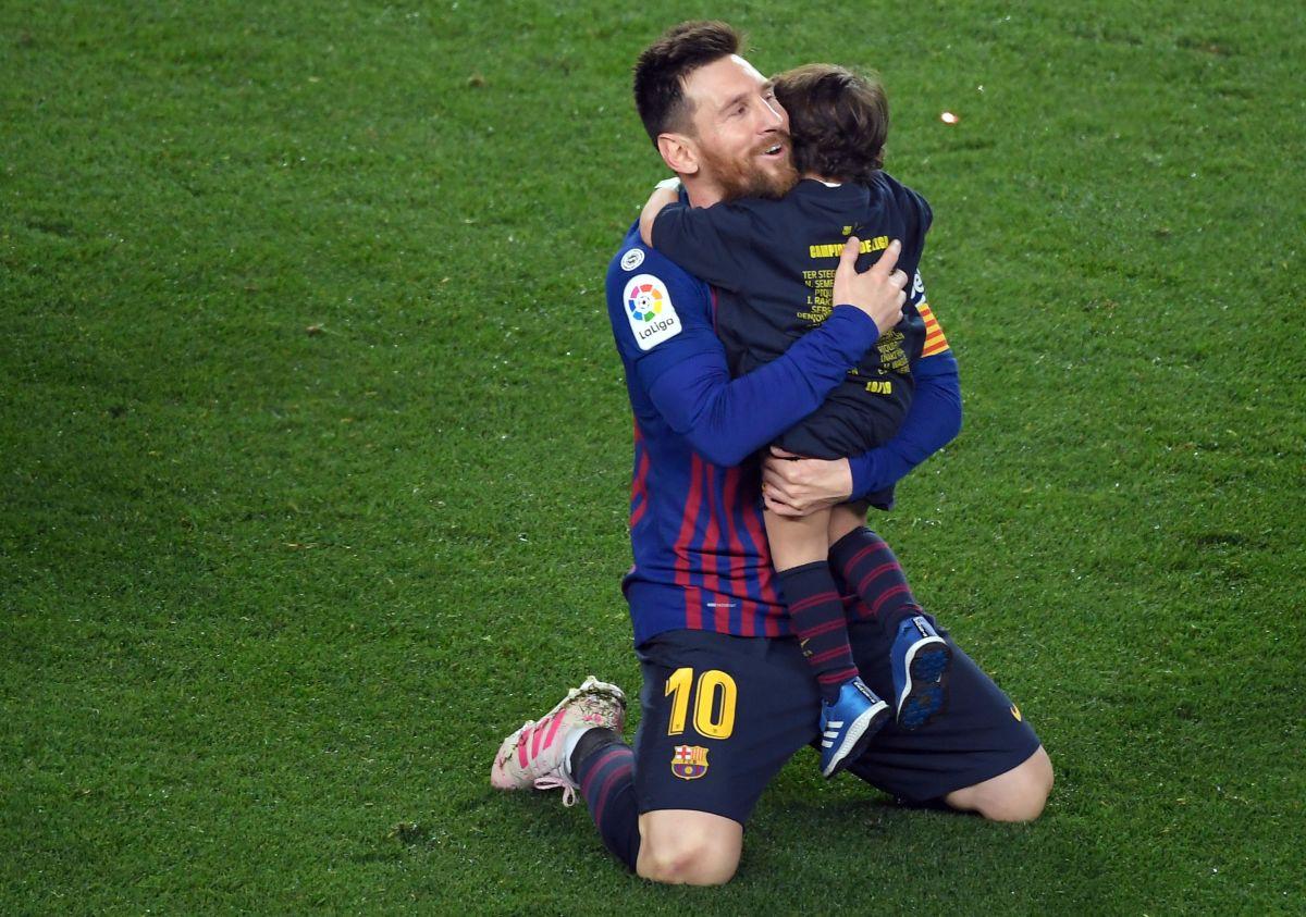 Video: Con un emotivo saludo Antonela Roccuzzo felicitó a Messi en el Día del Padre