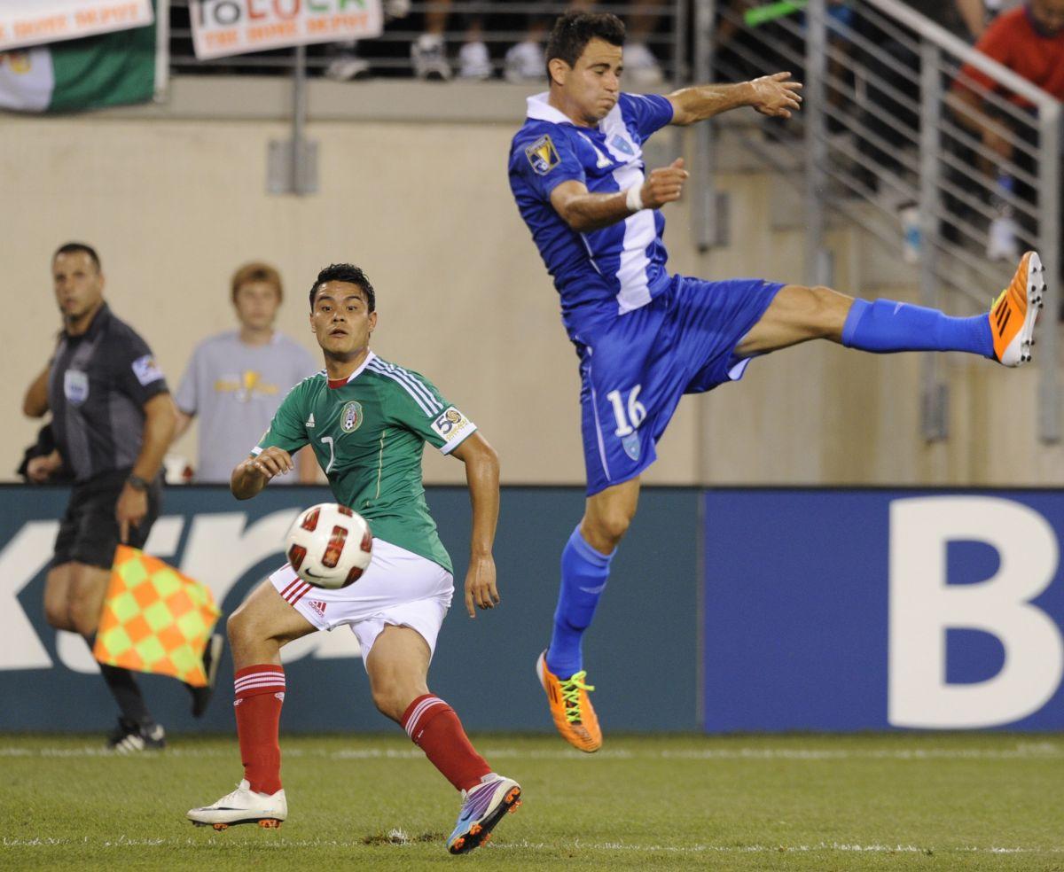 Marco Pappa representó a la Selección de Guatemala en la Copa Oro 2011.