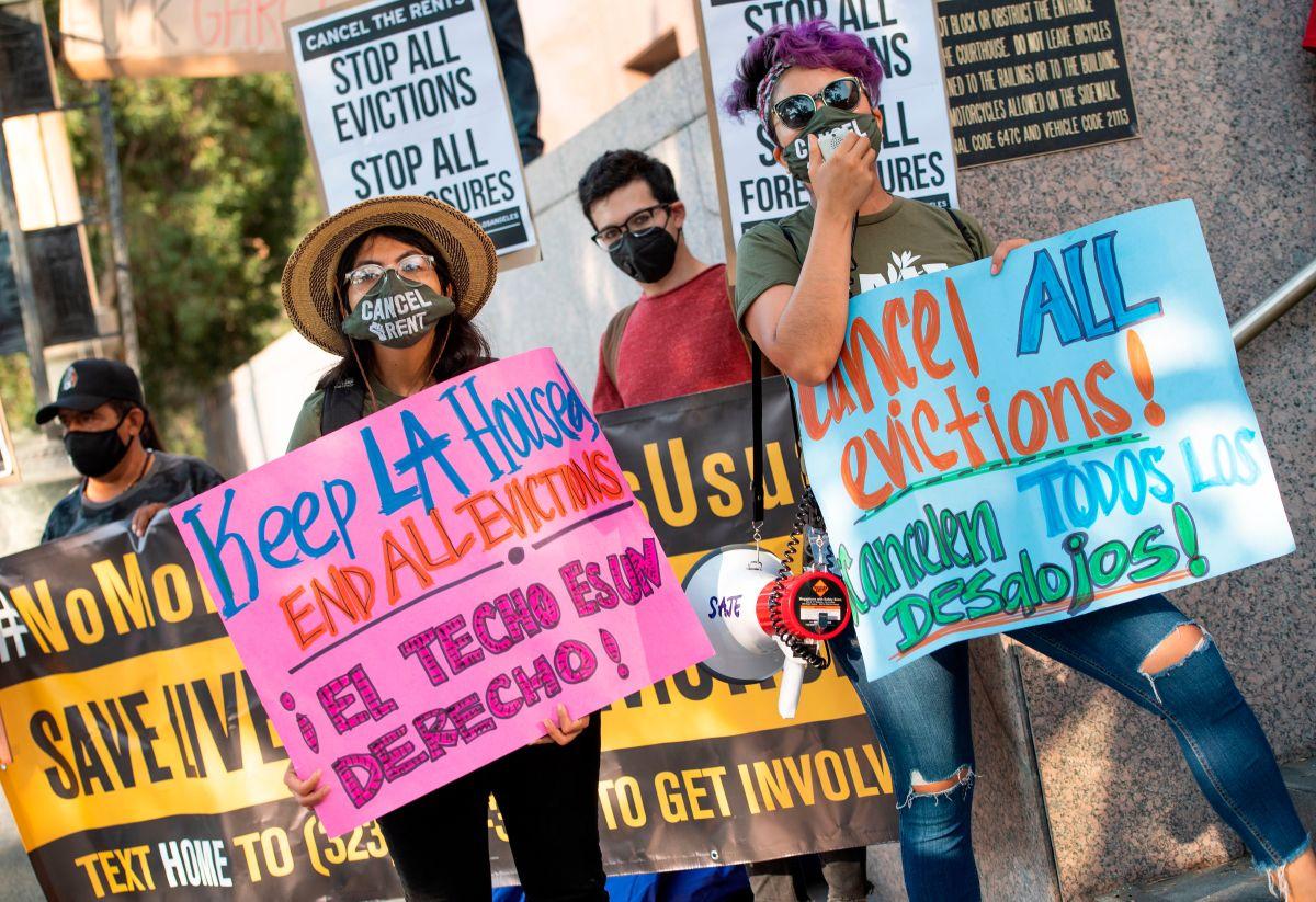 La extensión de la moratoria en California evitará un posible desalojo en masa.