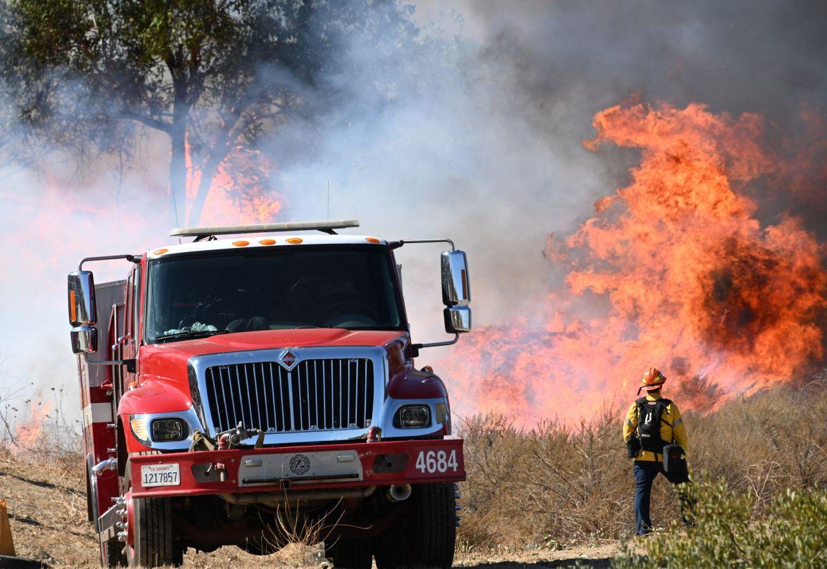 Una falla eléctrica es la posible causa del incendio activo Dixie en California