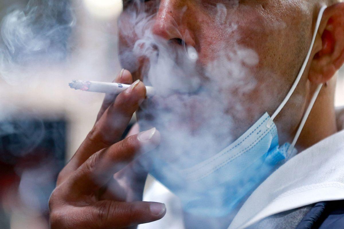 El dragón fumador