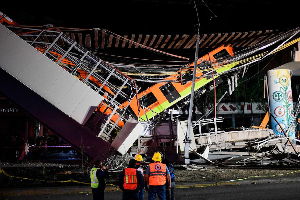 Falla en la estructura de la Línea 12 del Metro de la Ciudad de México provocó su colapso, revela peritaje