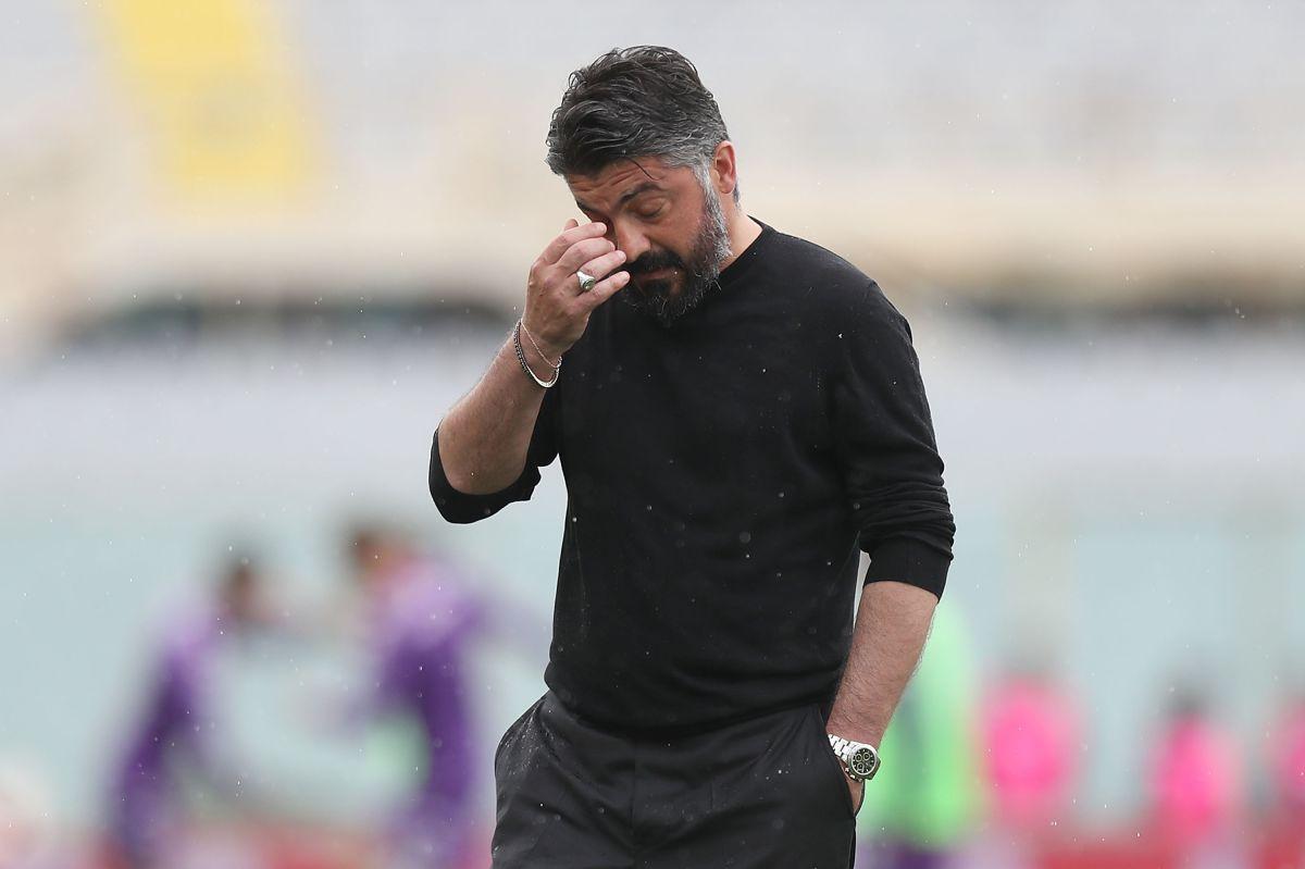 No duró ni un mes: Gattuso se va de la Fiorentina por problemas con la directiva