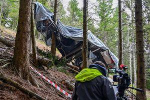 Video: el momento exacto del accidente del teleférico que dejó 14 muertos en Italia