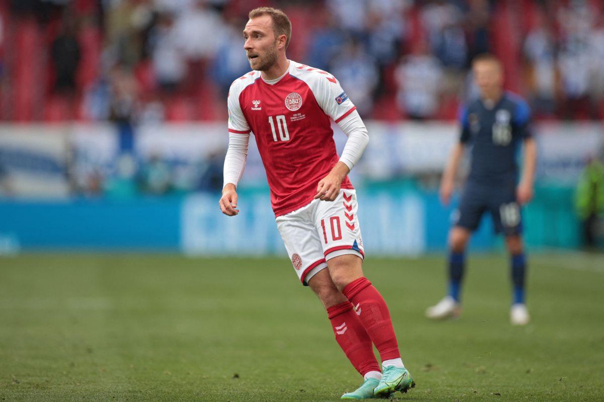 La Federación Danesa informó que Christian Eriksen permanece estable